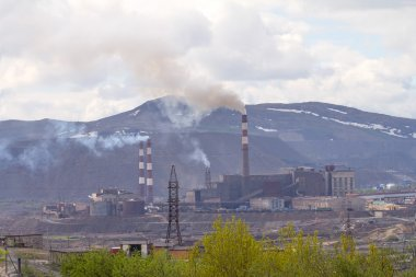 Copper-Nickel plant and  destruction of nature