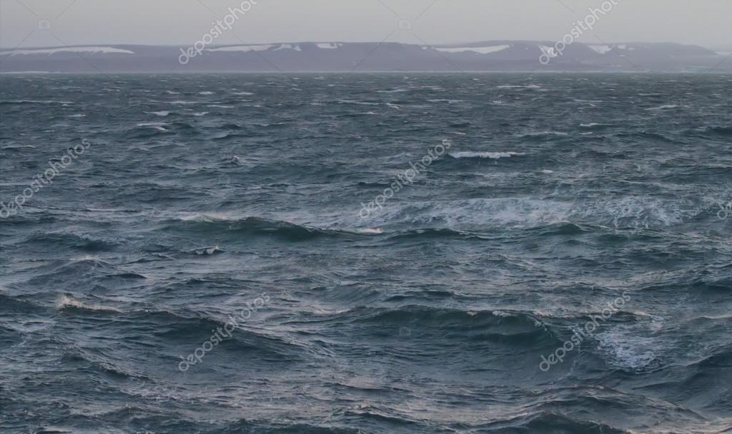 Kara sea near the island of Novaya Zemlya