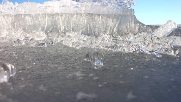 Összeomló jég
