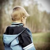 Ztracené dítě venkovní