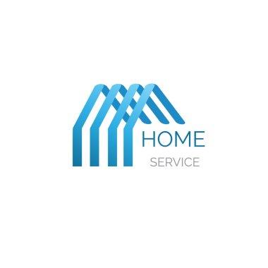 Vector house logo