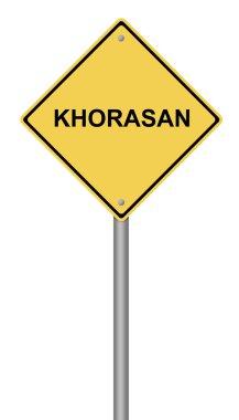 Warning Sign KHORASAN