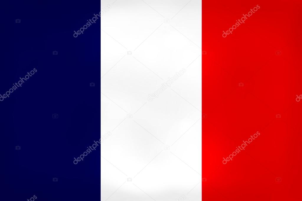 Amado Bandeira da França suja — Fotografias de Stock © hlehnerer #90428286 ES86