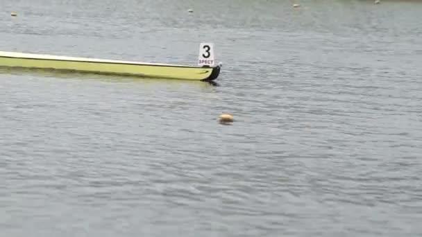 Brest-Belarus - August 01. Rudern Wettbewerbe, 1. August 2012. Brest, Belarus, Stadt Rudern Kanal.