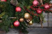 Fotografia Decorazioni dellannata sullalbero di Natale