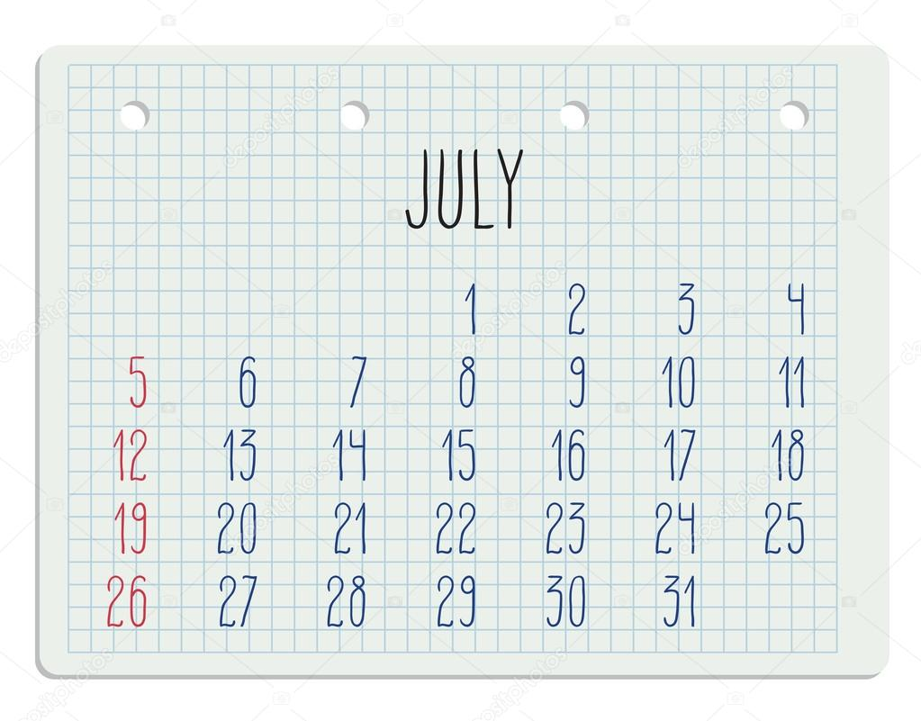 Calendario Anno 2015 Mensile.2015 Anno Calendario Sulla Pagina Del Taccuino Vettoriali