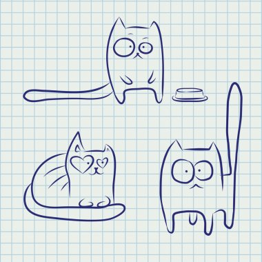 Notebook funny cats