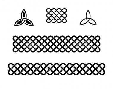 Celtic knots elements