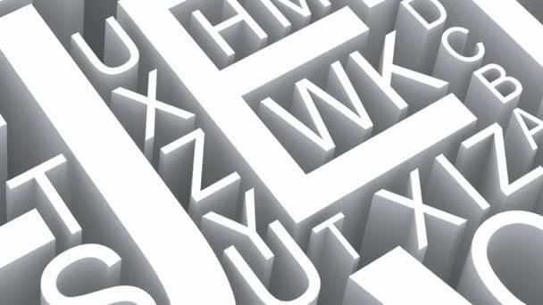 písmena anglické abecedy