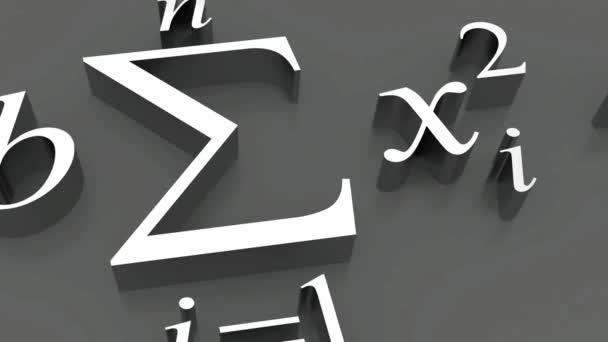 Mathematische Formeln.