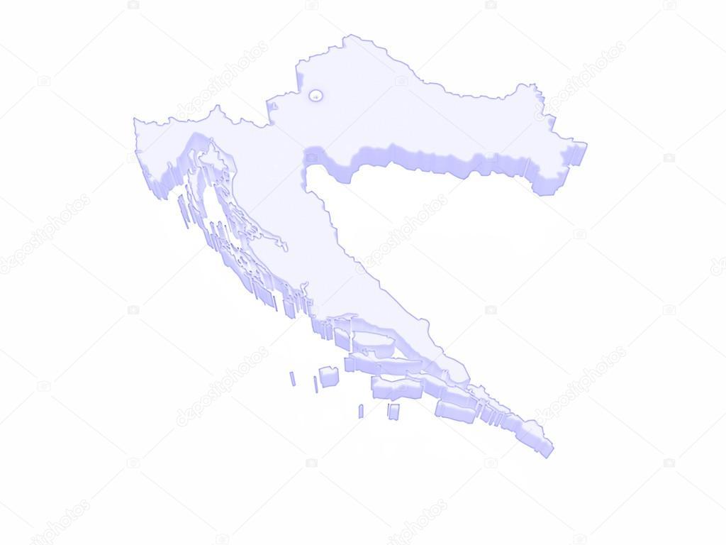 Carte Croatie A Telecharger.Carte De Croatie Photographie Tatiana53 C 61955005