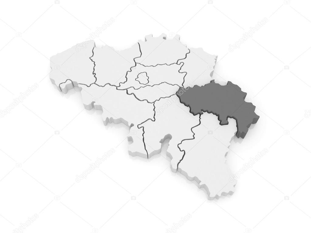 map of liege belgium 3d photo by tatiana53