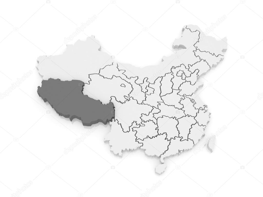 karta över tibet karta över tibet. Kina — Stockfotografi © Tatiana53 #62219367 karta över tibet