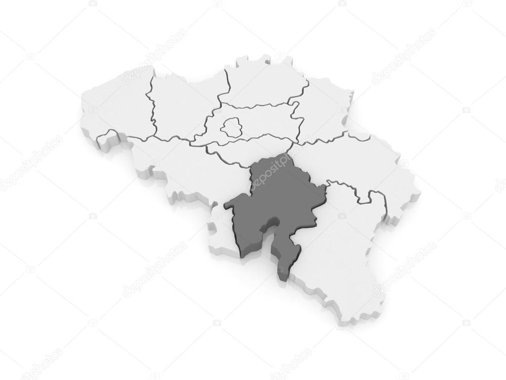 Map of Namur Belgium Stock Photo Tatiana53 62219593