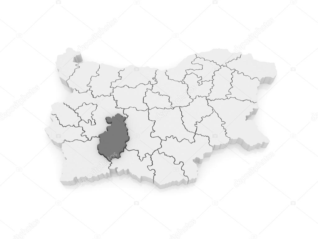Karta Provincii Pazardzhik Bolgariya Stokovoe Foto C Tatiana53