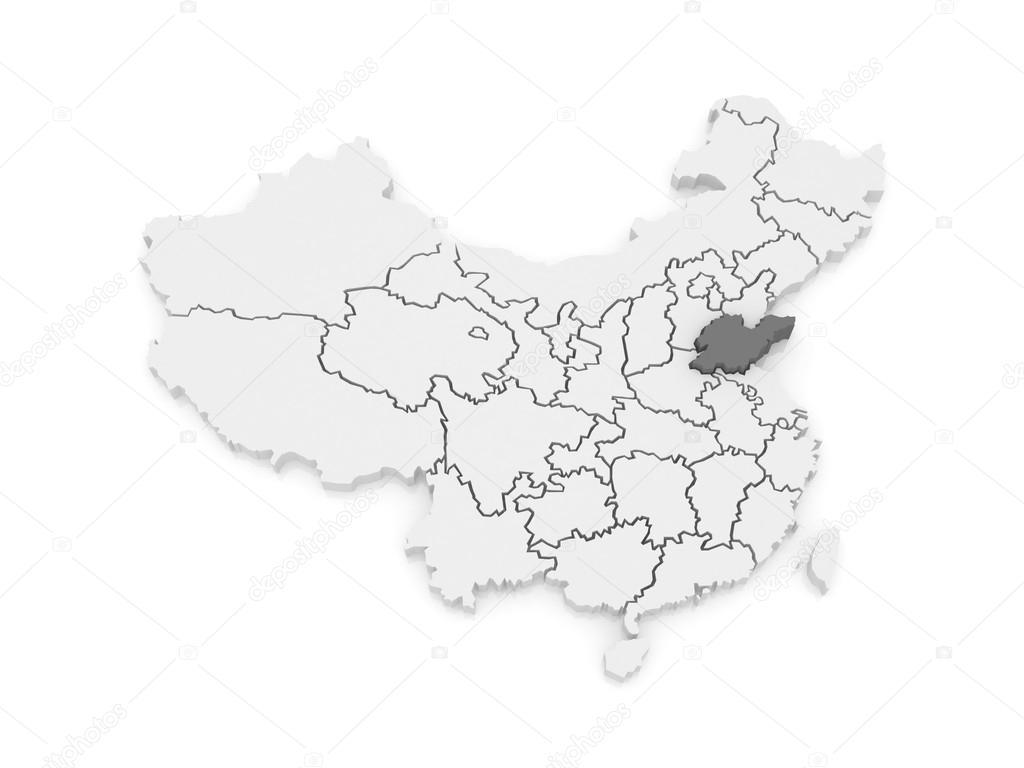map of shandong china stock photo tatiana53 62223273