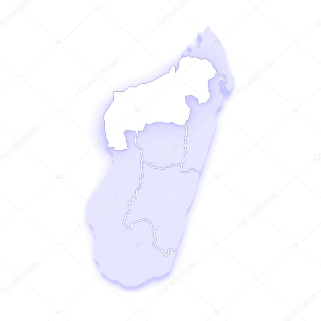 Map of Mahajanga Madagascar Stock Photo Tatiana53 62399643