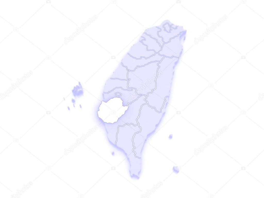 Map of Tainan City Taiwan Stock Photo Tatiana53 62401759