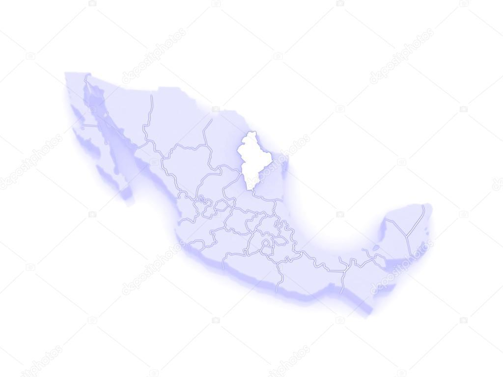 Map Of Nuevo Leon Mexico Stock Photo C Tatiana53 62404061