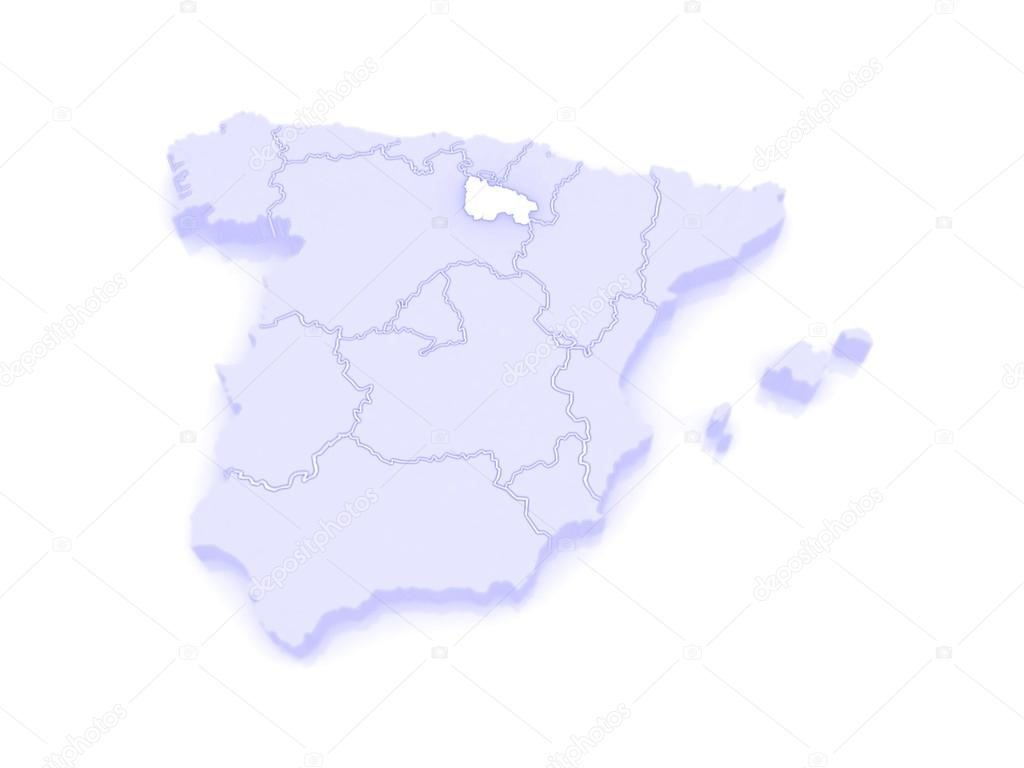 Map Of Spain Rioja.Map Of Rioja Spain Stock Photo C Tatiana53 62404215