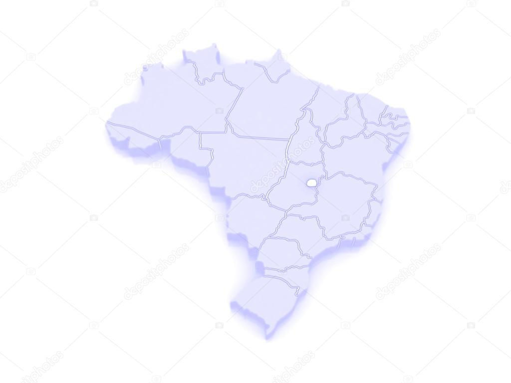 Picture of: Map Of Brasilia Brazil Stock Photo C Tatiana53 62404497