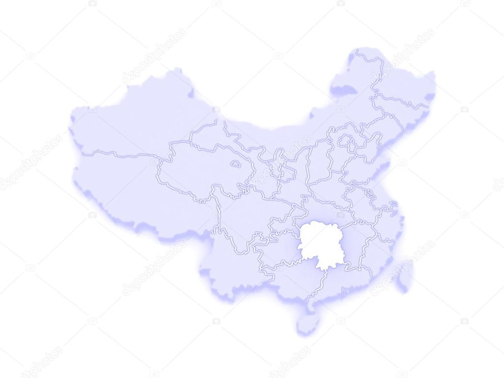Carte Chine Hunan.Carte Du Hunan Chine Photographie Tatiana53 C 62404925
