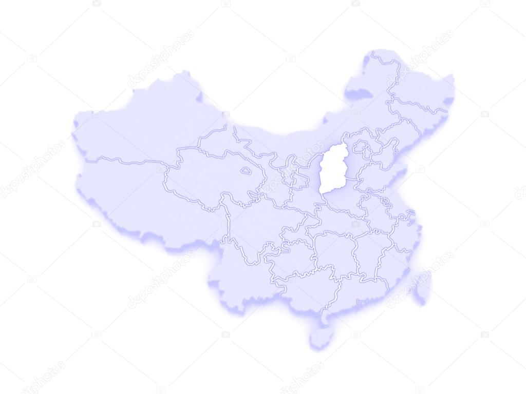 Shanxi China Map.Map Of Shanxi China Stock Photo C Tatiana53 62405201