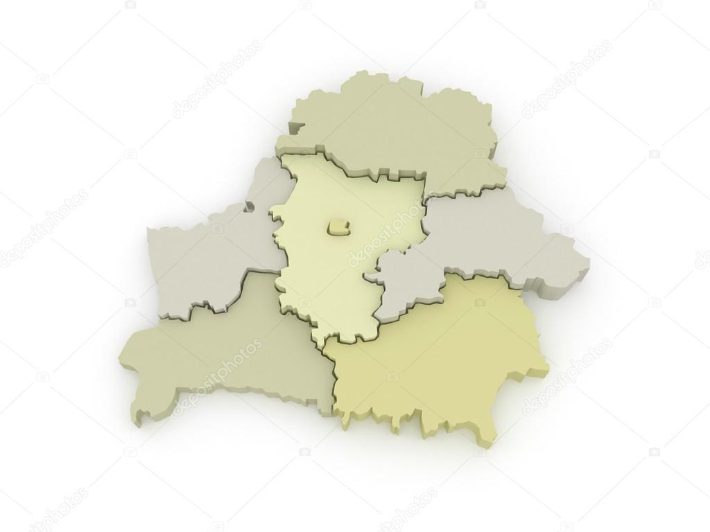 карта беларуси с изображением символа области фото русской православной