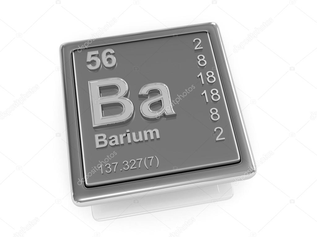 Barium chemical element stock photo tatiana53 65817481 barium chemical element 3d photo by tatiana53 biocorpaavc Images