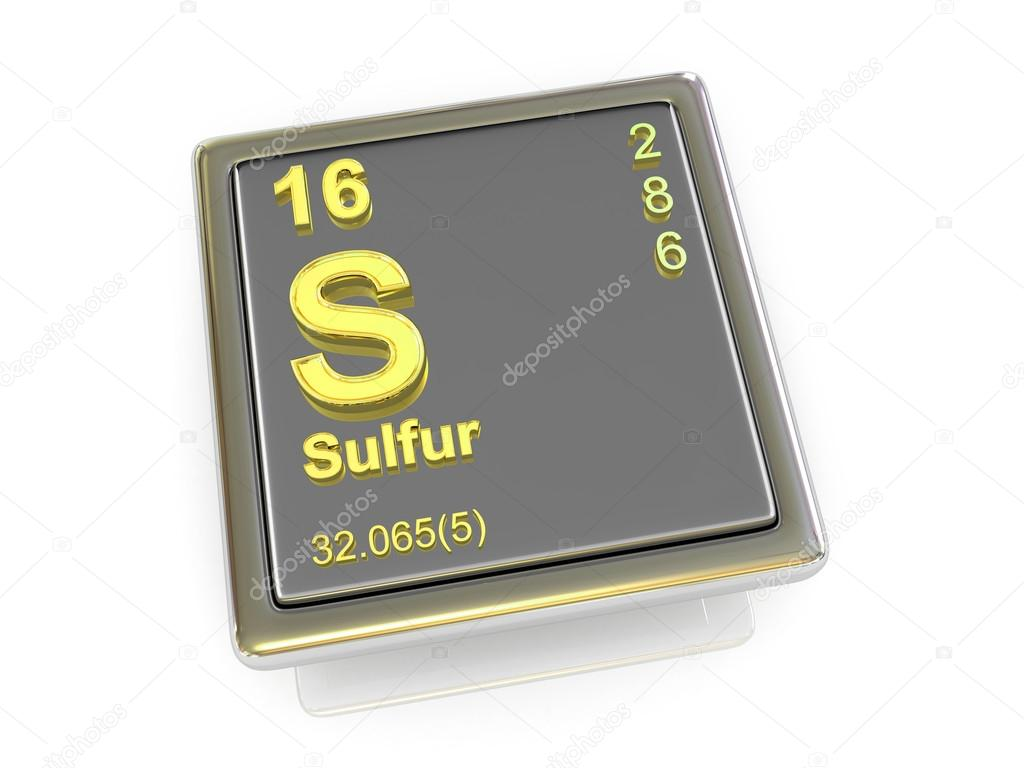 Sulfur Chemical Element Stock Photo Tatiana53 66007557