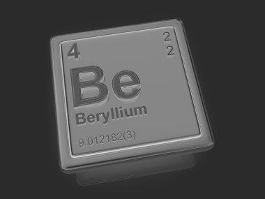Beryllium. Chemical element.