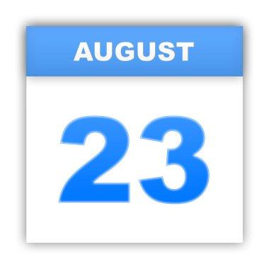 Day on the calendar. 3d