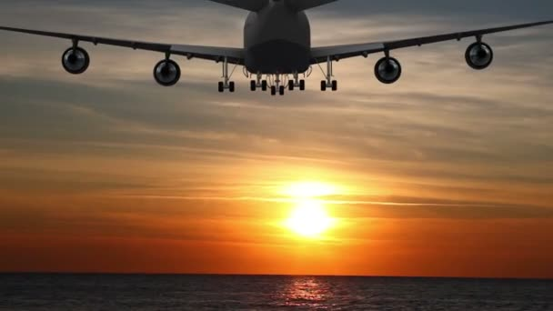 Airplane Take Off Silhouette