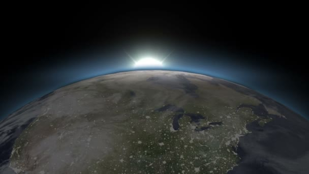 Beautiful Blue Earth - From Night To Day