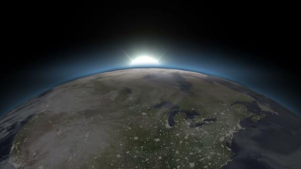 Krásná modrá země - z noci den