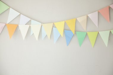 Colourful buntings