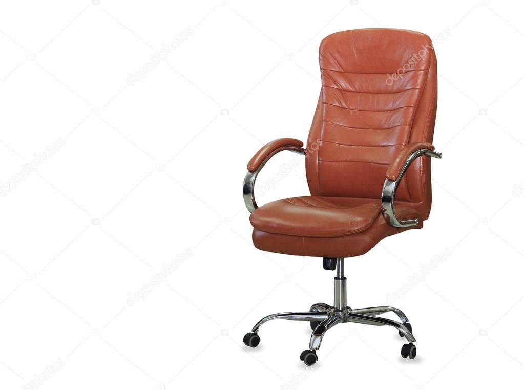Sedie Ufficio Arancio : Sedia da ufficio moderno dalla pelle arancione isolato u foto