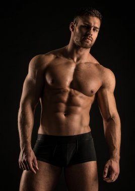 Good-looking fit male model