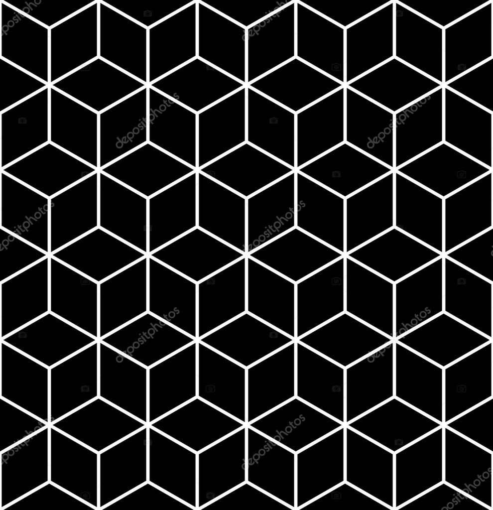 Trama Senza Soluzione Di Continuità Geometrica Op Art Foto Stock