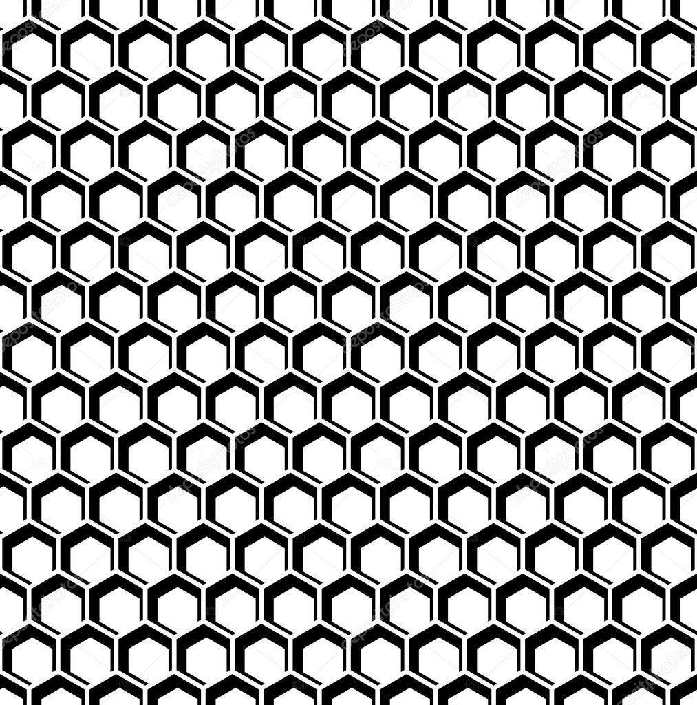 textura perfecta hexágonos. patrón del panal — Archivo Imágenes ...