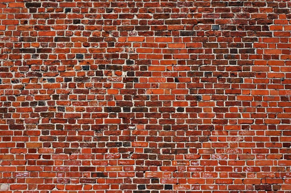 Restaura la textura de la pared de ladrillo Ladrillos viejos y
