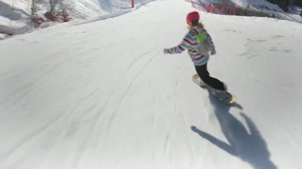 Snímek pro snowboardisty