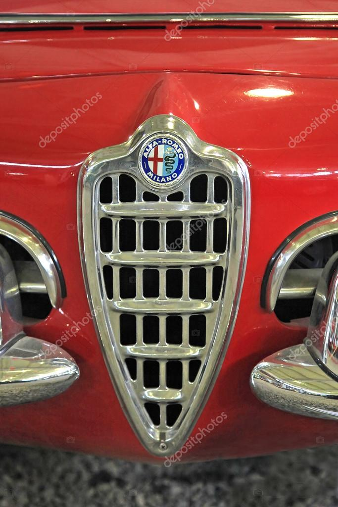 Vintage Car Logo Alfa Romeo Giulia 1600 1963 Year Stock Editorial Photo C Spopov 103453830