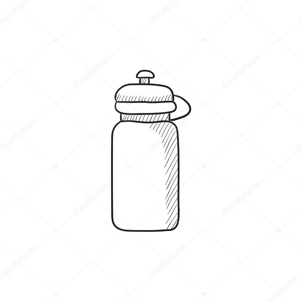 Спортивная бутылка рисунок женские нижное белье
