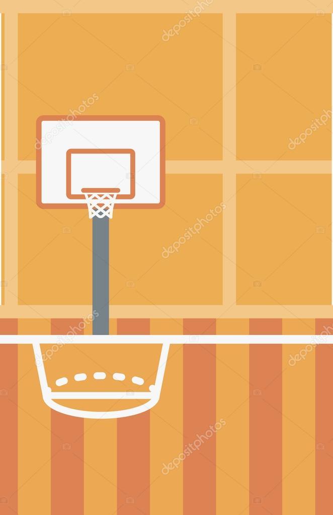 Background Of Basketball Court Stock Vector C Visualgeneration 112633560