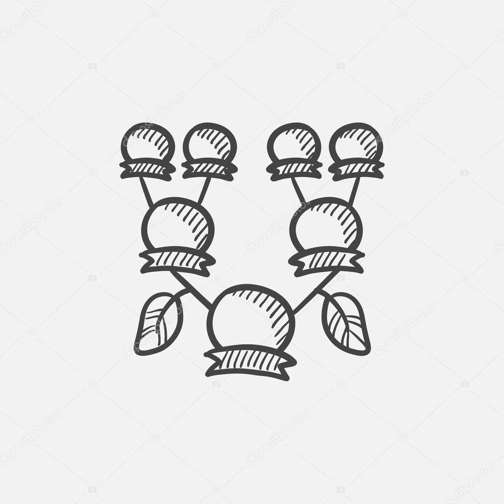 Arbre Genealogique Dessin Icone Image Vectorielle Rastudio