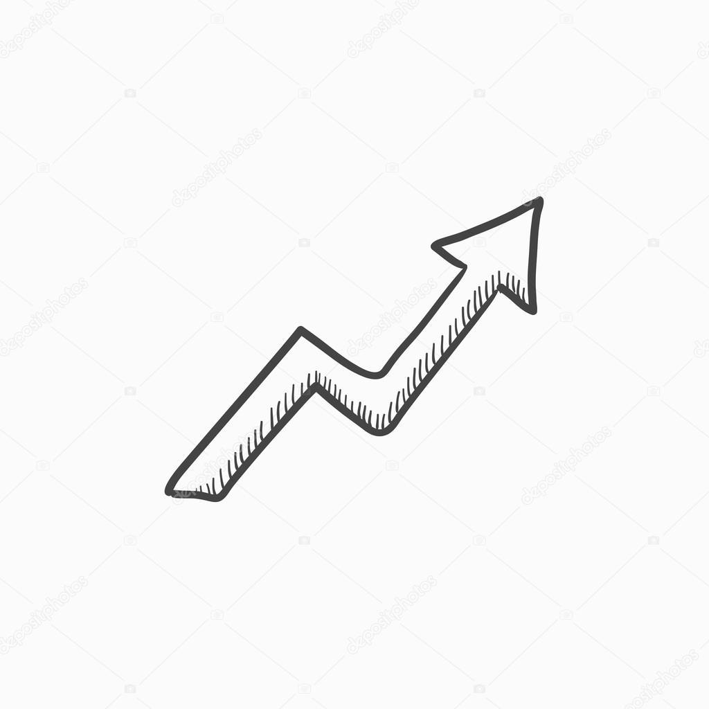 Icono De Flechas En Android Icono De Dibujo Hacia Arriba Flecha