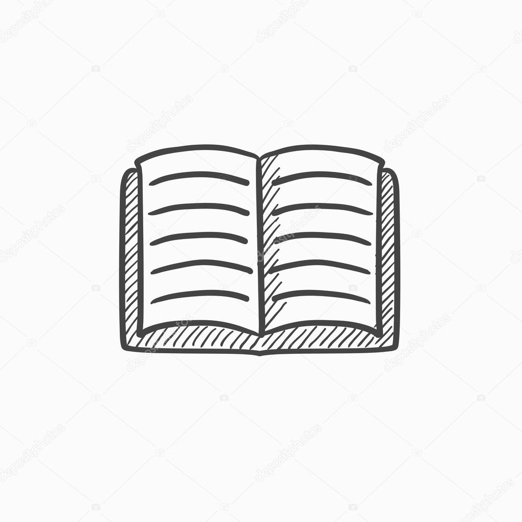 icono de libro abierto dibujo archivo imgenes vectoriales