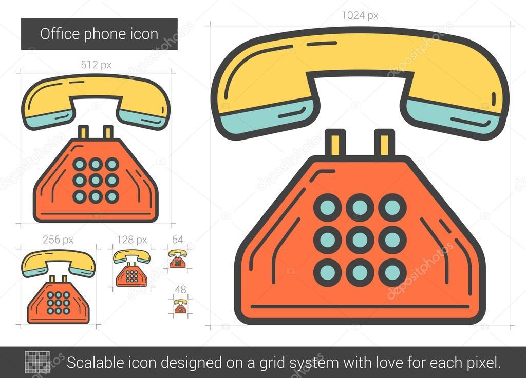 de lijn telefoon