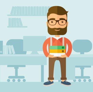 Office clerk.